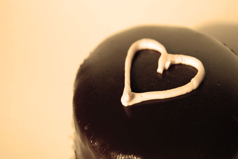 Chocolate Melted Hearts