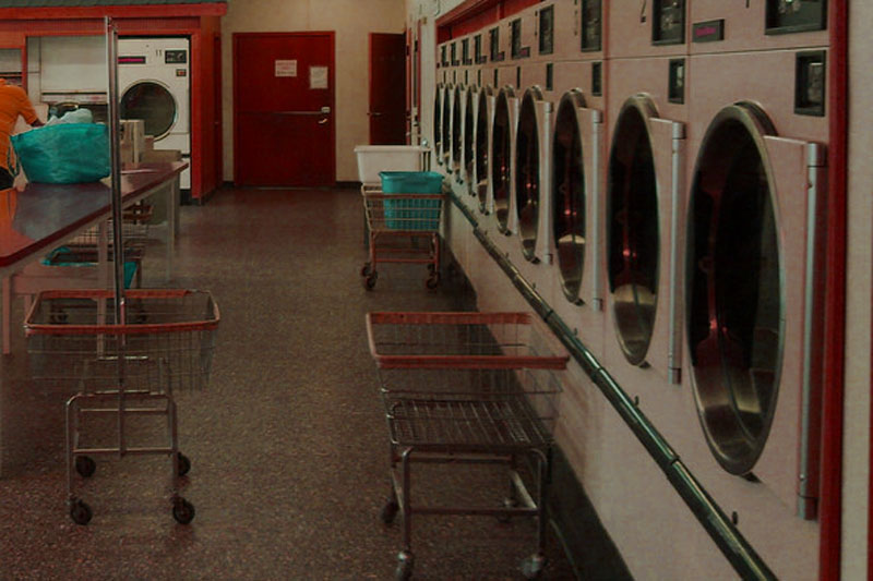 In a Laundry Room on Virgin Gorda