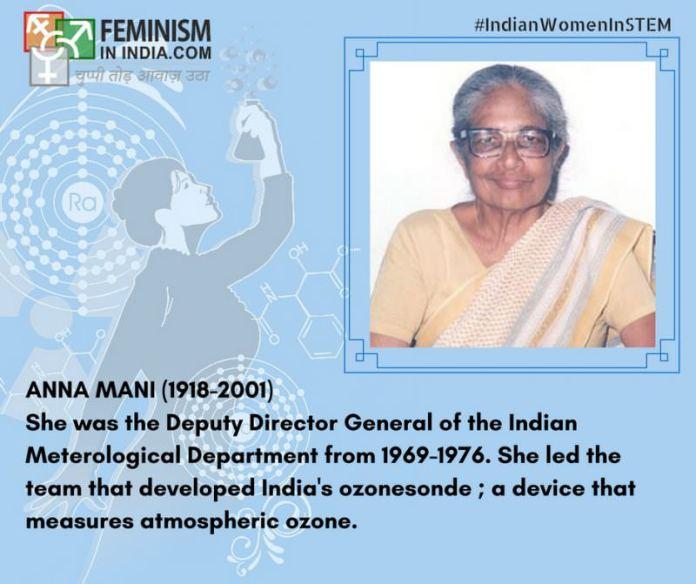 Anna Mani (1918-2001)