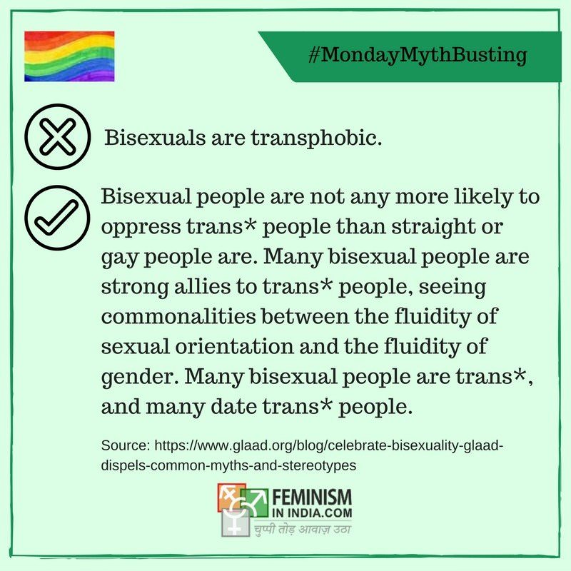 Bisexual myths