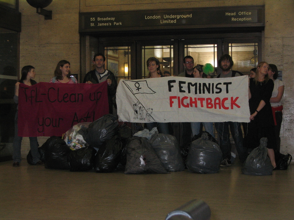 FF Photo Solidarity with RMT Cleaners