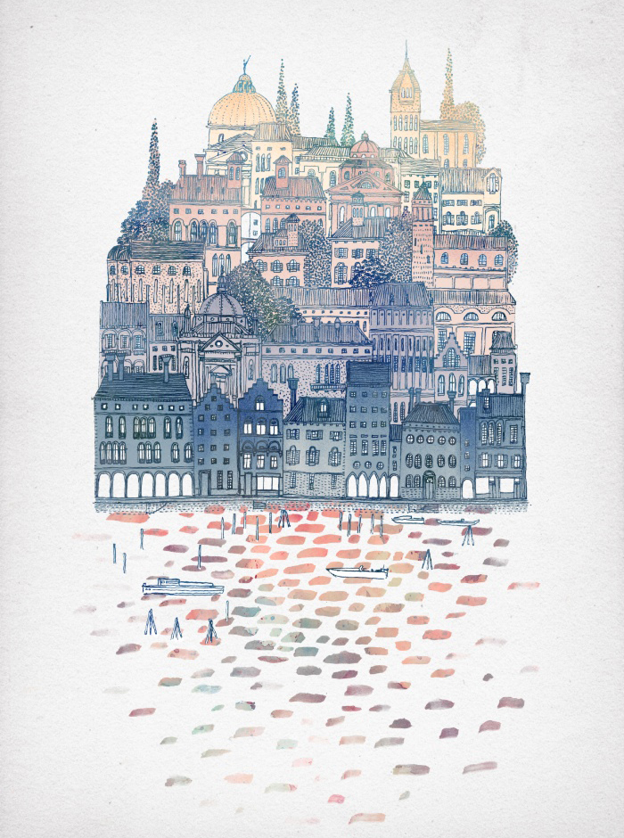 Sunday's Society6 - David Fleck, Serenissima
