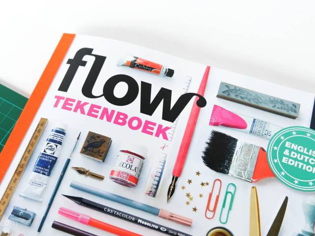 Review: Flow tekenboek