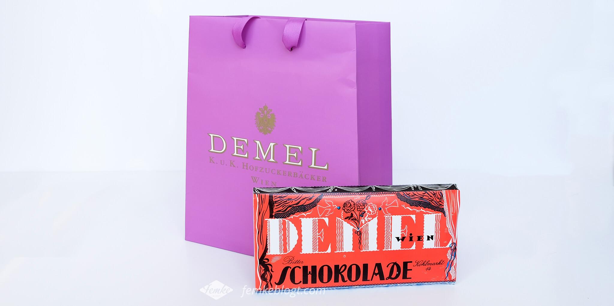 chocoladerepen Demel