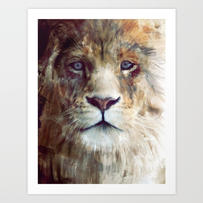 Sunday's Society6 lion