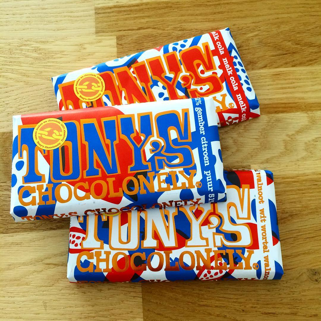 Femke blogt | Tony's Chocolonely limited edition