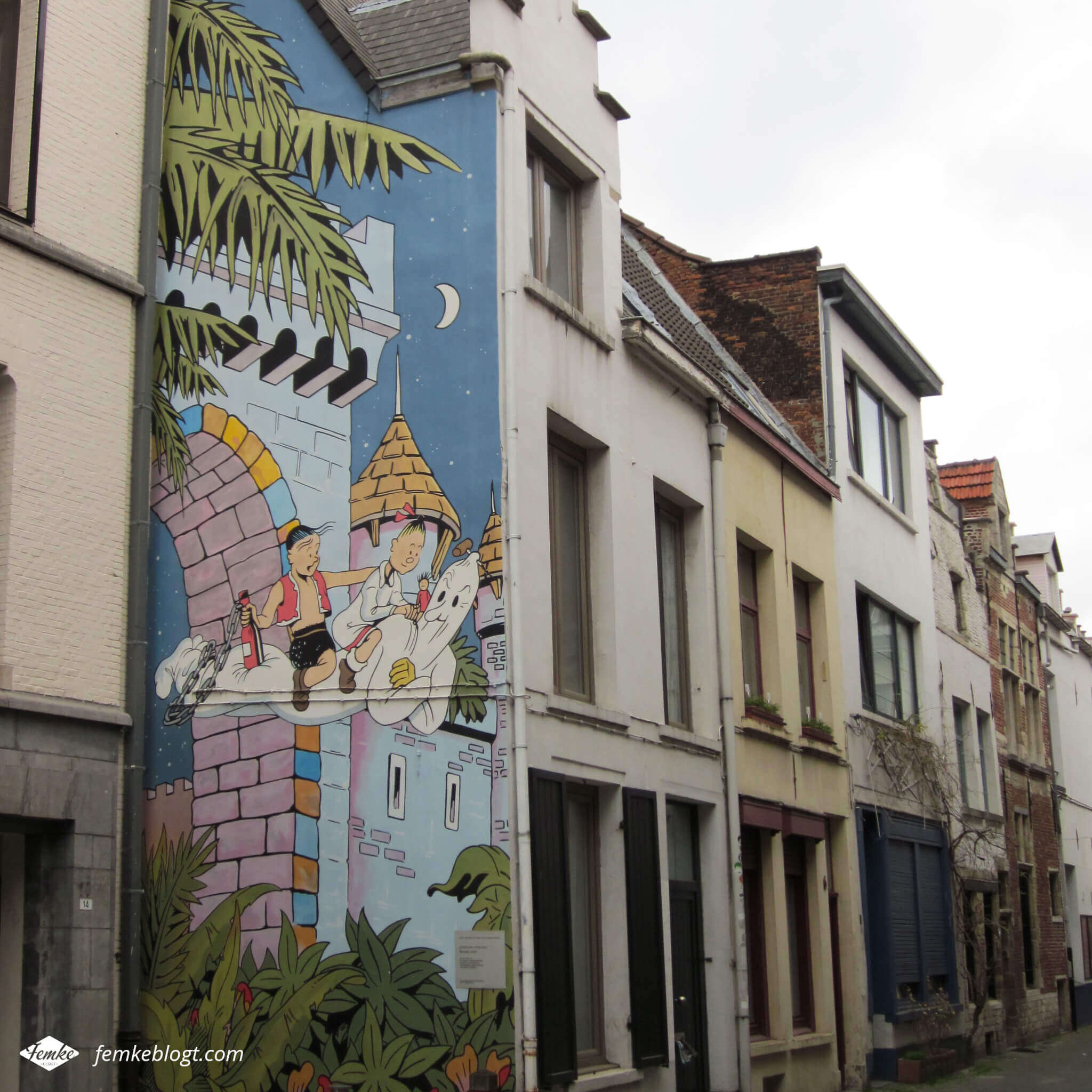 Streetart Antwerpen, Suske & Wiske
