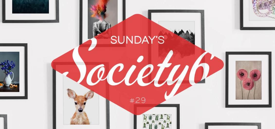 Sunday's Society6 | Little animals