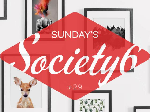 Sunday's Society6 | Little animals