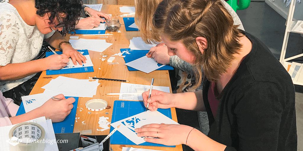 Creative life | Workshop papercutting