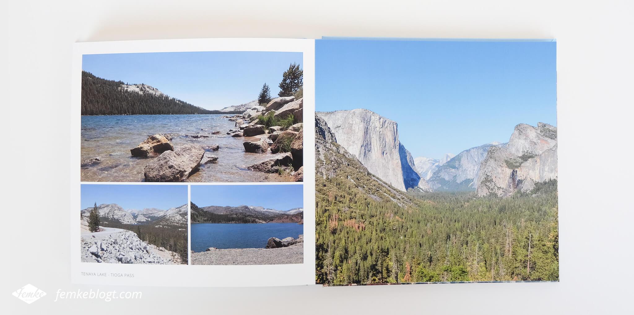 Mijn fotoboek van onze rondreis door Amerika | Fotoboek maken, ontwerpen en design tips