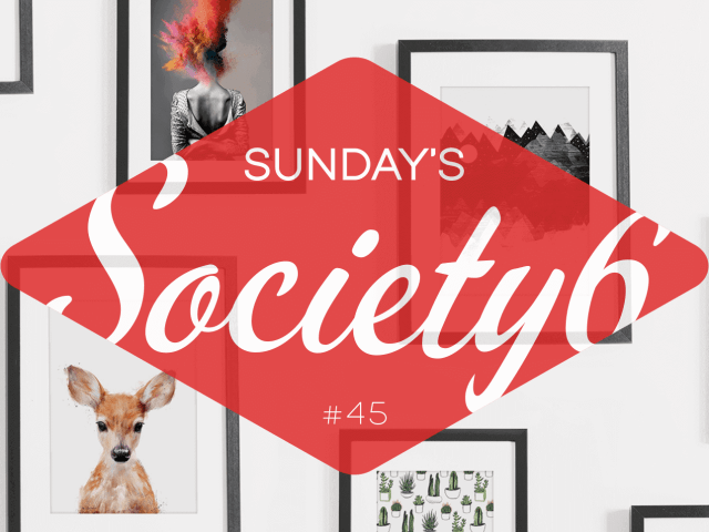 Sunday's Society6 #45 | Illustraties