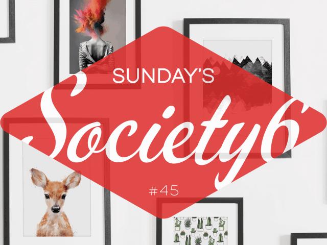 Sunday's Society6 #45 | Illustraties