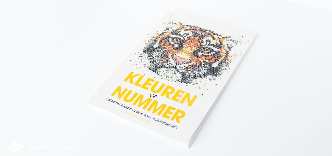 Kleuren op nummer | Elk vakjes heeft een nummer wat correspondeert met een bijbehorende kleur.