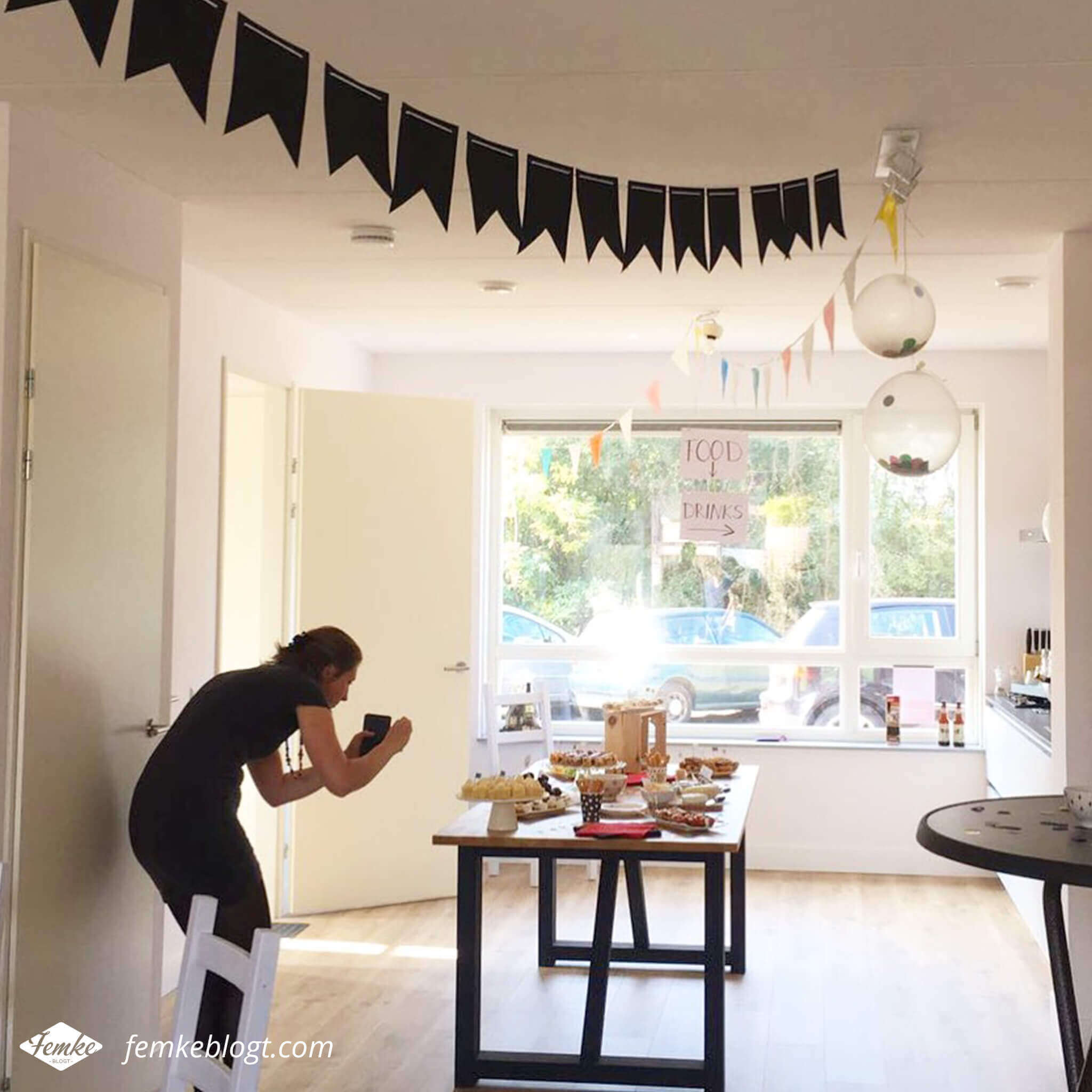 Maandoverzicht september | Onze housewarming, behind the scenes
