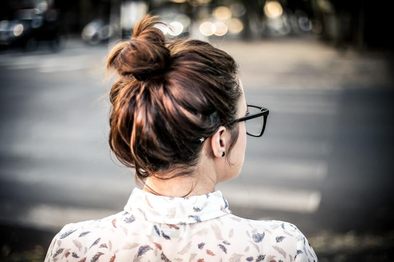 Messy bun makes beat Quick and easy hairstyles for lazy girls