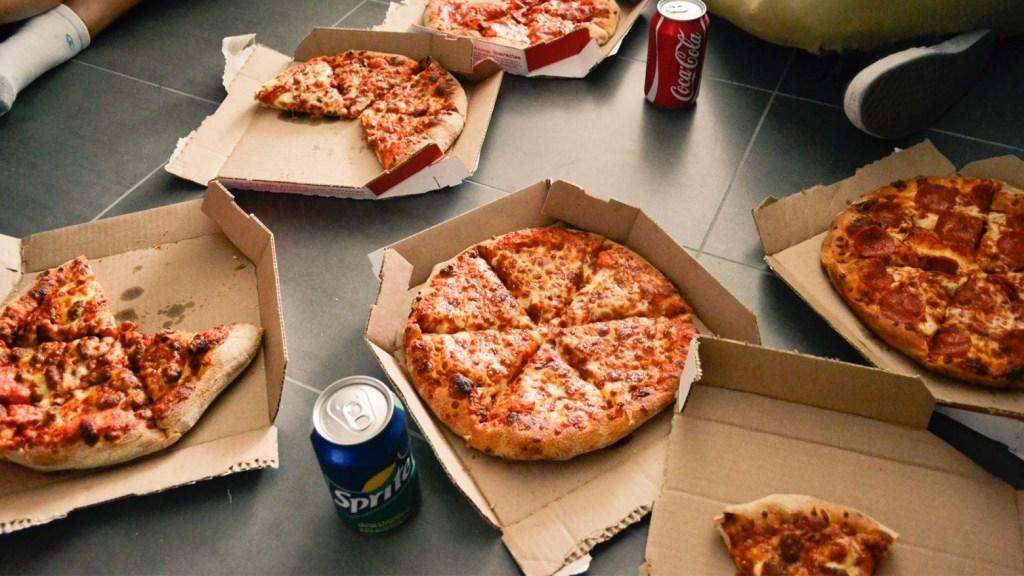 pizza fris verandering leefstijl