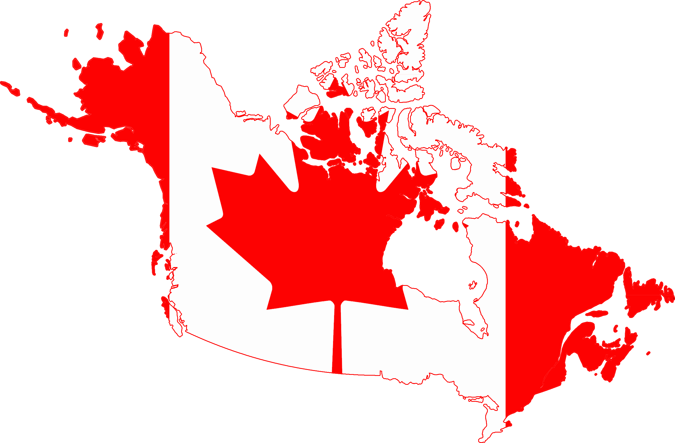 Flag_map_of_Greater_Canada