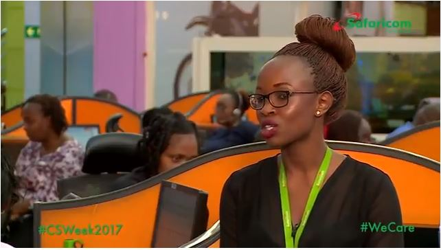 Faces Behind The Safaricom Customer Care Center Number 100