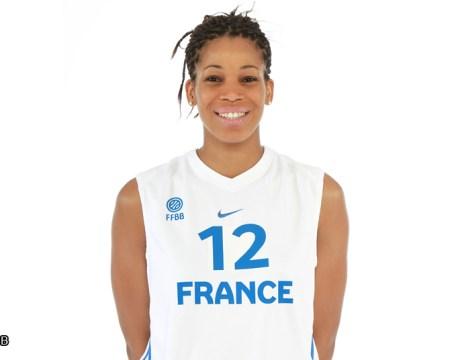 Equipe de France Féminine de Basket - Marielle Amant