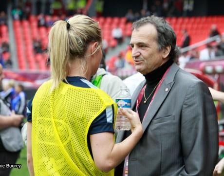Equipe de France Féminine de Football - Juin 2013 - Bruno Bini