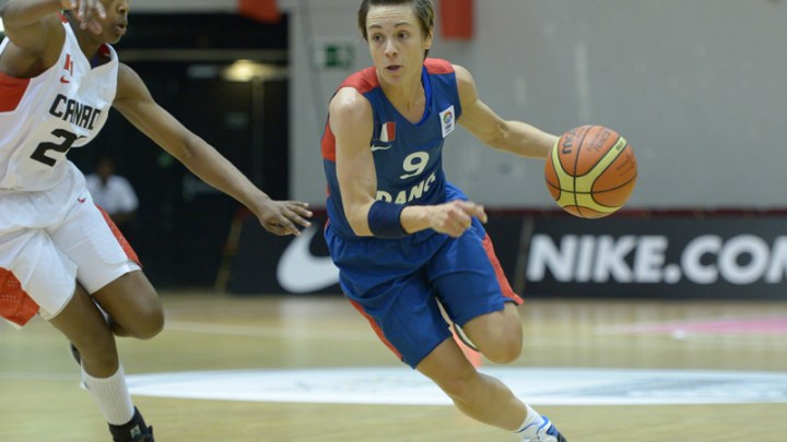 Basket - France - Céline Dumerc
