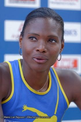 Athlétisme - Muriel Hurtis