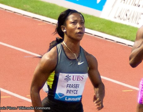 Athlétisme - Shelly Ann Fraser