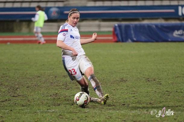 Football - Olympique Lyonnais - Camille Abily