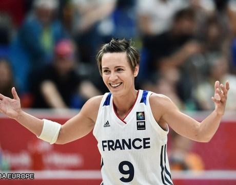 Basket France Celine Dumerc
