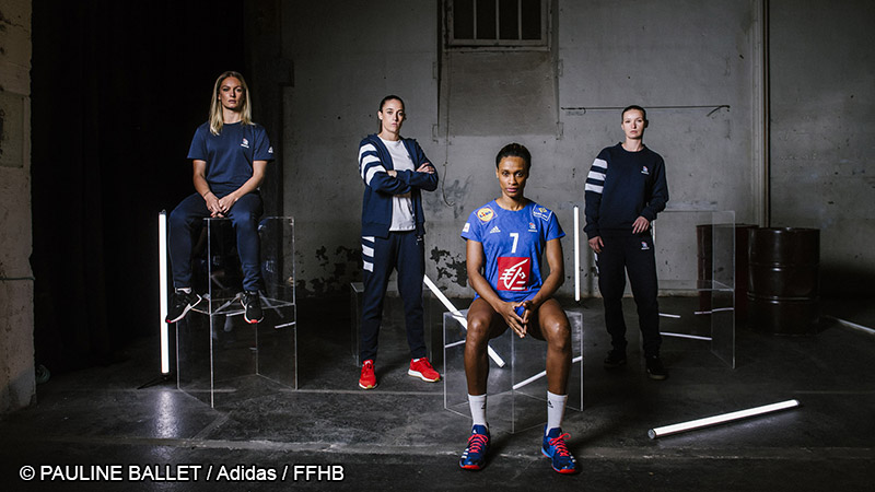 EHF Euro 2018 – Un nouveau maillot pour les Bleues Femmes