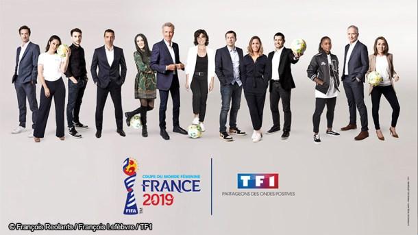 TF1 - Football Coupe du Monde de la FIFA France 2019 - Football Féminin - Sport Féminin - Femmes de Sport