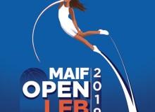 Basket - Affiche du MAIF Open LFB 2019 - Basket Féminin - Femmes de Sport - Sport Féminin