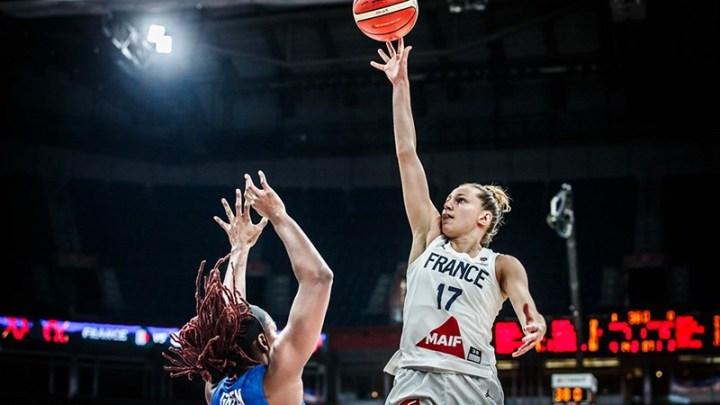 Basket - France féminine - Marine Johannes