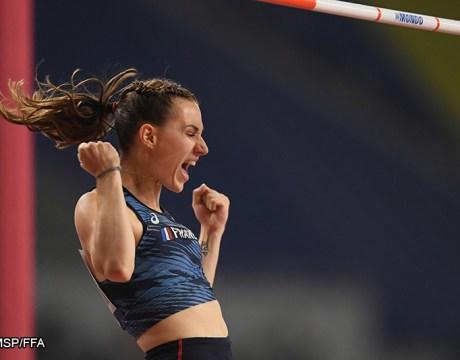 Ninon Guillon-Romarin - Athlétisme féminin - Saut à la Perche féminin - Femmes de Sport