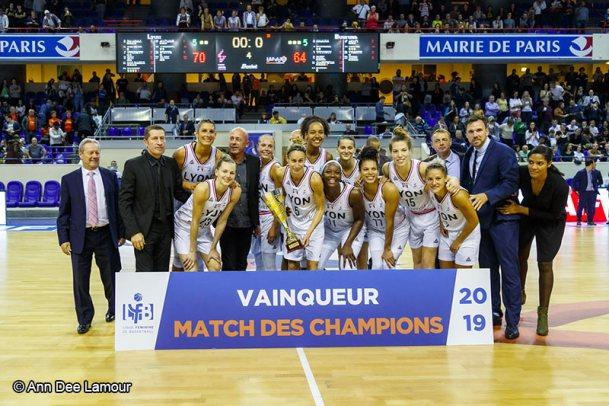 Basket Féminin - Match des Champions 2019 - ASVEL Féminin - Sport Féminin - Femmes de Sport