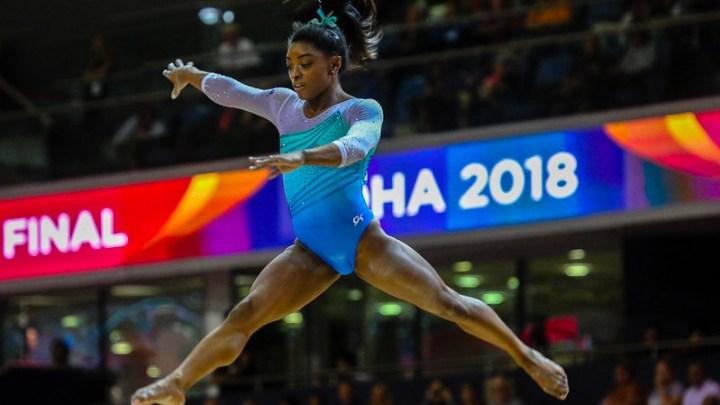 Simone Biles - Gymnastique Artistique - Sport Féminin - Femmes de Sport