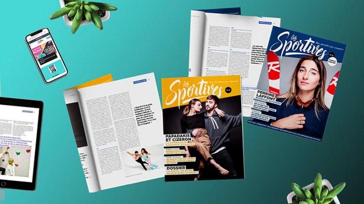 Les Sportives magazine - Sport féminin - Femmes de Sport