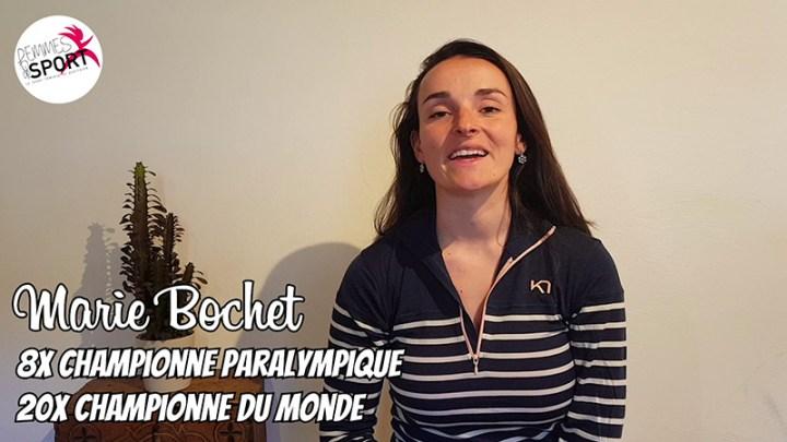 La Selfinterview - Marie Bochet - Handisport féminin - Sport Féminin - Femmes de Sport