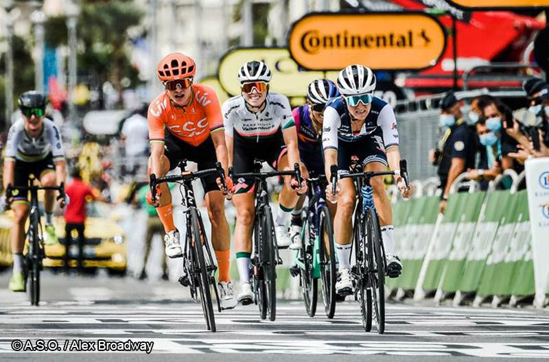 Cyclisme Féminin - Lizzie Deigann - Sport Féminin - Femmes de Sport