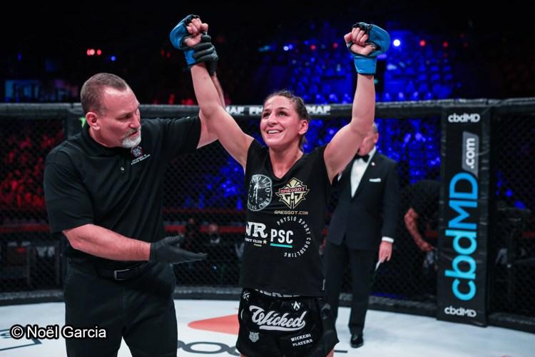 Lucie Bertaud - MMA Féminin - Sport féminin - Femmes de Sport