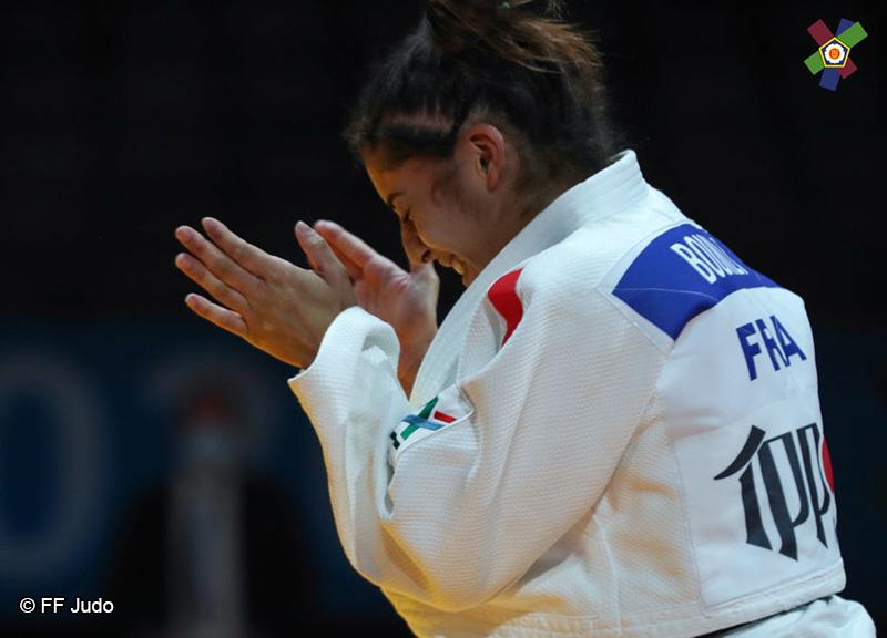 Shirine Boukli - Judo Féminin - Sport Féminin - Femmes de Sport