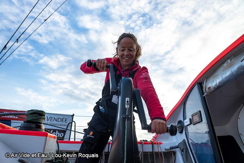 Alexia Barrier - TSE-4myplanet - Vendée Globe 2020 - Voile féminine - Sport Féminin - Femmes de Sport