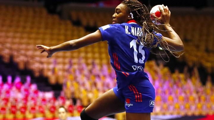 Kalidiatou Niakaté - Equipe de France de Handball - Handball Féminin - Sport Féminin - Femmes de Sport