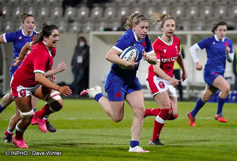 Emeline Gros - Equipe de France féminine de rugby à XV - Rugby Féminin - Sport Féminin - Femmes de Sport
