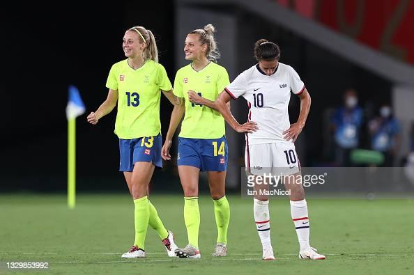 Suède - USA - Football féminin - Sport Féminin - Femmes de Sport