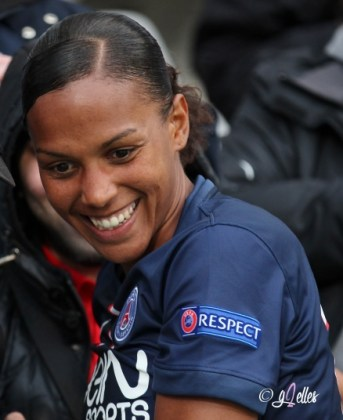 Football - PSG - Marie Laure Delie