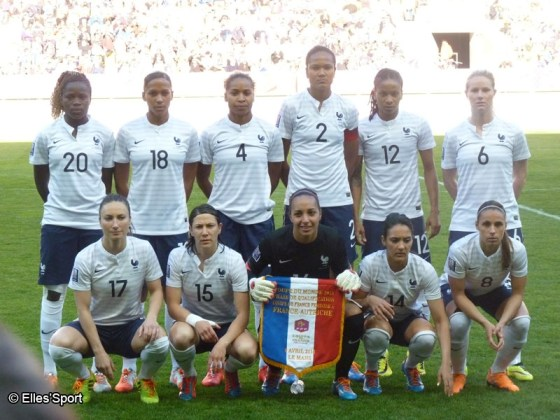 Football - Equipe de France féminine de football