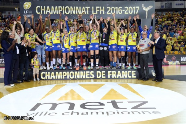 Handball LFH Metz Champion 2017