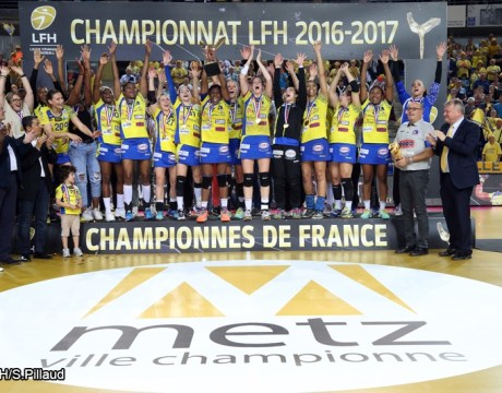 Handball LFH Metz Champion 2017